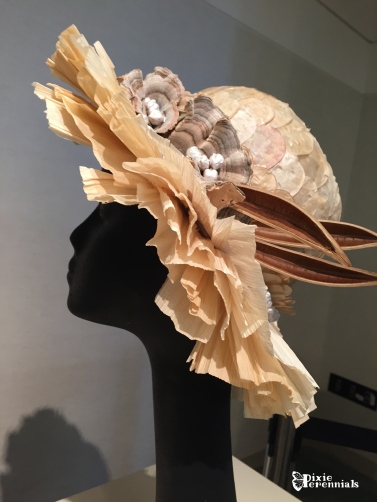 Themed hats made of flowers, foliage, nuts, and seeds - pixieperennials.com